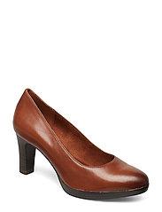 Woms Court Shoe - COGNAC