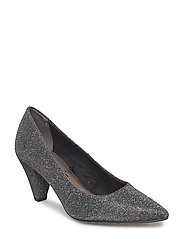 Woms Court Shoe - BLACK GLAM