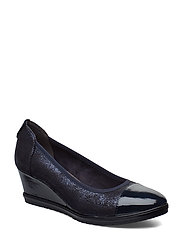 Woms Court Shoe - NAVY GLAM