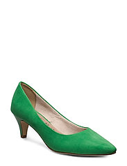 Woms Court Shoe - EMERALD