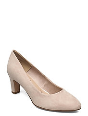 Woms Court Shoe - IVORY