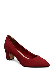 Woms Court Shoe - BRICK