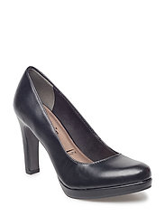 Woms Court Shoe - BLACK MATT