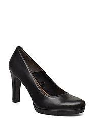 Woms Court Shoe - BLACK MATT