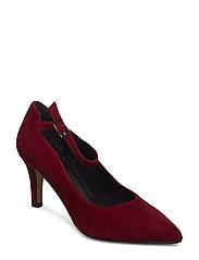 Woms Court Shoe - MERLOT