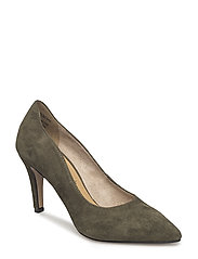 Woms Court Shoe - OLIVE