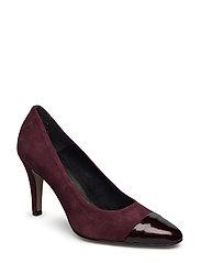 Woms Court Shoe - Livia - VINE/PATENT