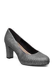 Woms Court Shoe - PLAT.GLAM STR.