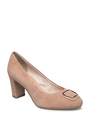 Woms Court Shoe - OLD ROSE