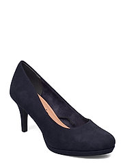 Woms Court Shoe - NAVY