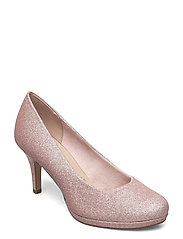 Woms Court Shoe - ROSE GLAM