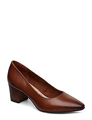 Woms Court Shoe - MUSCAT LEATHER