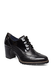 Woms Lace-up - BLACK