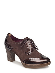Woms Lace-up - MOCCA