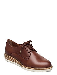 Woms Lace-up - BRANDY
