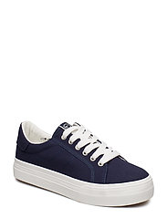 Woms Lace-up - NAVY