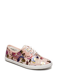 Woms Lace-up - ROSE FLOWER