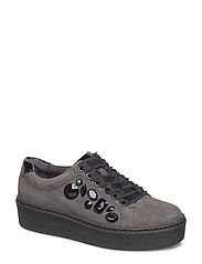 Woms Lace-up - GRAPHITE/BLACK