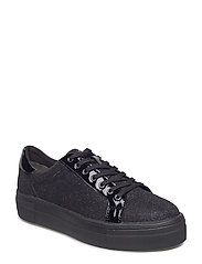 Woms Lace-up - BLACK GLAM
