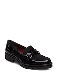 Woms Slip-on - BLK PAT./BLK