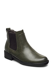 Woms Boots - OLIVE/GREY