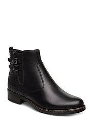 Woms Boots - BLACK/ STR.