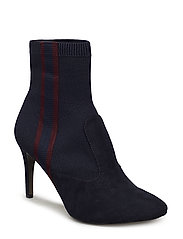 Woms Boots - NAVY/BORDEAUX