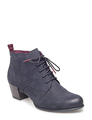 Woms Boots - NAVY NUBUC