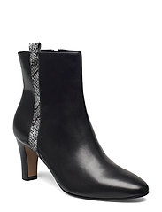 Woms Boots - BLACK/SNAKE