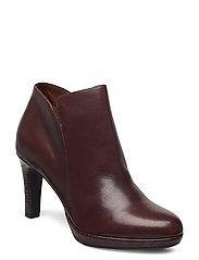 Woms Boots - MAROON/CROCO