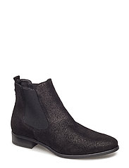 Woms Boots - BLACK METALLIC