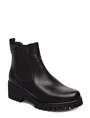 Woms Boots - BLACK LEATHER