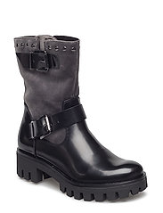 Woms Boots - BLK/GRAPH.VELV