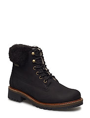 Woms Boots - BLACK FUR