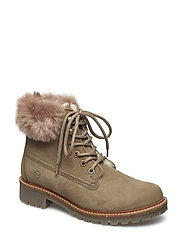 Woms Boots - TAUPE FUR
