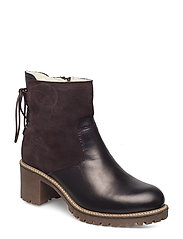 Woms Boots - AUBERGINE