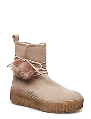 Woms Boots - BEIGE