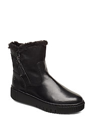 Woms Boots - BLACK/NO STUDS