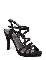 Woms Sandals - BLACK SUEDE