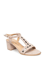Woms Sandals - TAUPE/GOLD