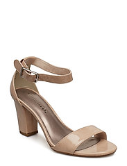 Woms Sandals - NUDE PATENT