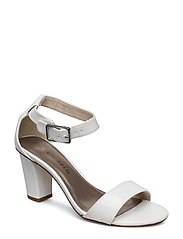 Woms Sandals - WHITE PATENT