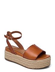 Woms Sandals - HAZELNUT