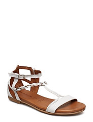 Woms Sandals - WHITE COMB