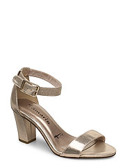 Woms Sandals - CHAMPAGNE MET.
