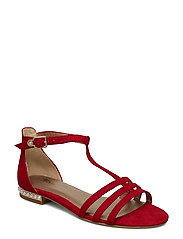 Woms Sandals - LIPSTICK/PEARL