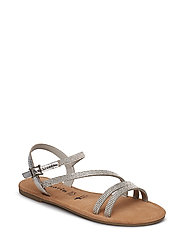 Woms Sandals - SILVER GLAM