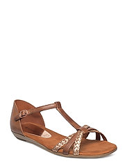 Woms Sandals - COGNAC/COPPER