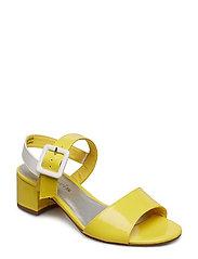 Woms Sandals - SUN/ WHITE PAT