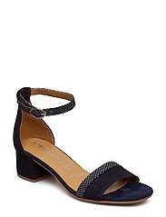 Woms Sandals - NAVY/DOTS